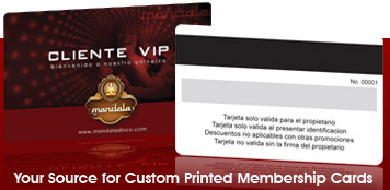 High Quality Custom Printed Membership Cards